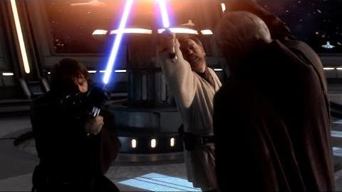 Obi-Wan and Anakin vs Count Dooku - Revenge of the Sith 1080p HD