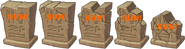 Sun Tombstone with its degrades