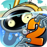 Plants Vs. Zombies™ 2 It's About Time Icon (Versions 2.9.1)