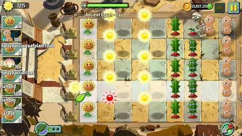 Tutorial how to play PvZ2 levels with any 8 or less existing plants you want-1