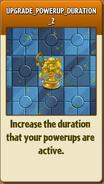 UPGRADE POWERUP DURATION 2 Almanac Info