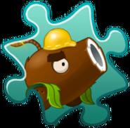 Coconut Cannon Costume Puzzle Piece