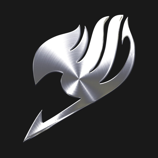Fairy Tail Logo Gray