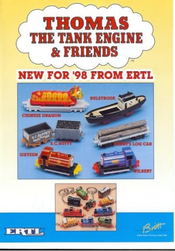 Thomas The Tank Engine And Friends Line | Ertl Wiki ...