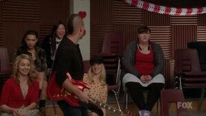 Fat Bottomed Girls Glee