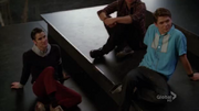 3x08 Blaine & Rory We Are Young