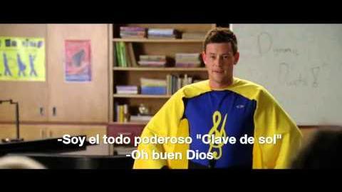 "Glee 4x07 ""Dynamic Duets"" - PROMO Subtitulos Español HD"