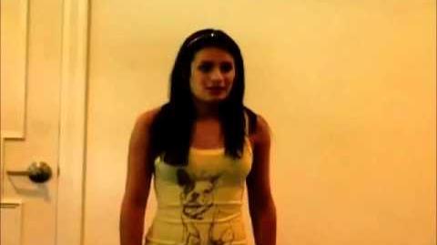Glee Audition-Lea Michele