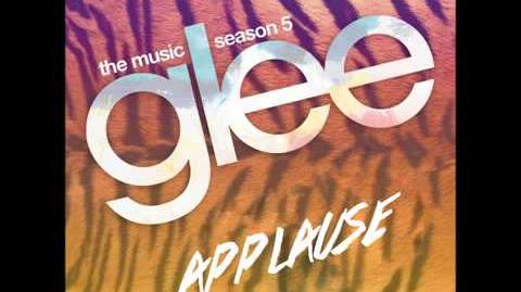 Applause (Glee Cast Version) HQ FULL STUDIO