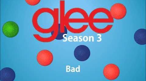 Bad - Glee (Full song)