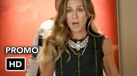 "Glee 4x03 Promo ""Makeover"" (HD) with Sarah Jessica Parker"
