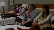 Lauren, Rachel, Tina, Mike y Santana