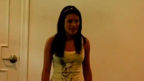 Lea Michele from GLEE Audition