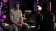 Kurt con Finn Ballad
