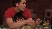 Will y Artie durante Gold Digger