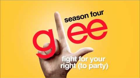 Fight For Your Right (To Party) - Glee HD Full Studio-0