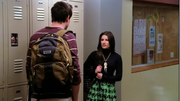 Rachel y Finn en Pilot