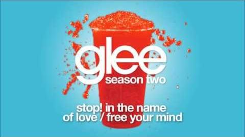Stop! In the Name of Love Free Your Mind Glee HD FULL STUDIO