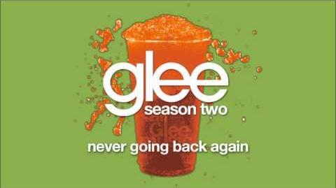 Never Going Back Again Glee HD FULL STUDIO