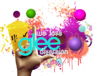 We love glee diversion logo png by daviglee5a-d504pnj