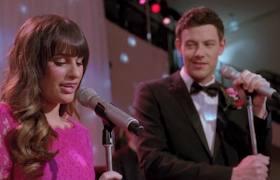 Rachel y finn juntos