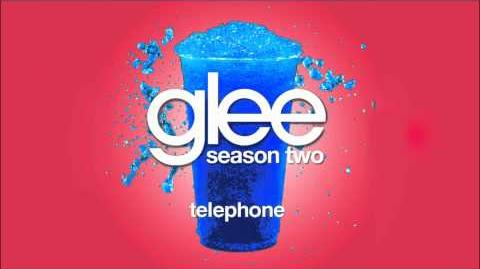 Telephone - Glee (full song)