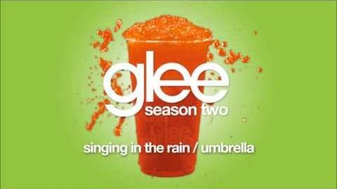 Singing In the Rain Umbrella Glee HD FULL STUDIO