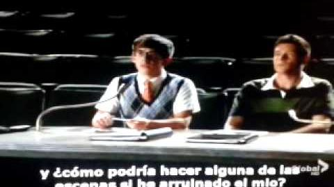 "Blaine's audition-glee""the role were you born to play""(sub"