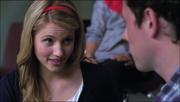 Quinn hablando con Finn Wheels