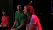 Artie, Mike y Rachel True Colors