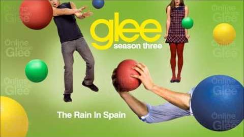 The Rain In Spain - Glee HD Full Studio