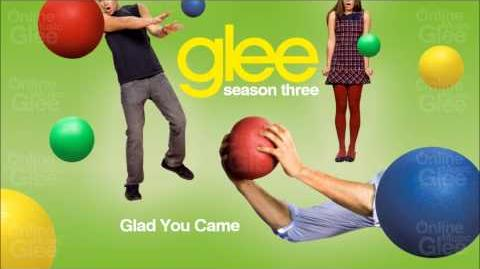 Glad You Came - Glee