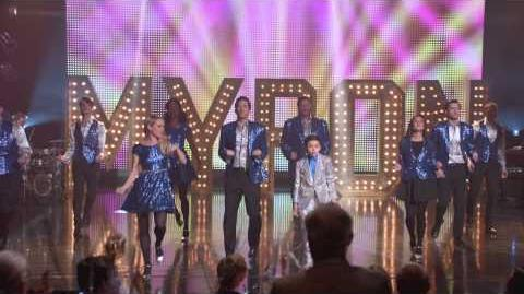 "Full Performance of ""Break Free"" from ""Child Star"" GLEE"