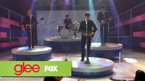 "Full Performance of ""I Saw Her Standing There"" from ""Love, Love Love"" GLEE-0"