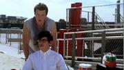 Finn y Artie en Pilot