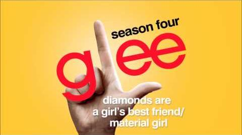 Diamonds Are a Girl's Best Friend Material Girl - Glee HD Full Studio-1