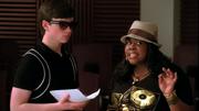 Kurt y Mercedes en Preggers