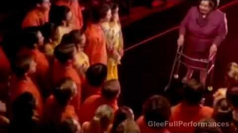 Glee - That's The Way (I Like It) Shake Your Booty - DELETE SCENE (Good Quality) HQ