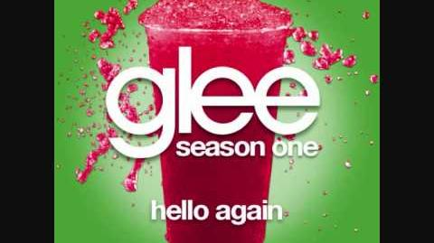 Hello Again - Glee (Audio performance)