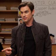 Cooper en su clase