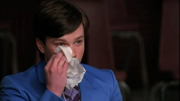 Kurt llorando en The Rhodes Not Taken