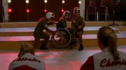 Glee - Old Time Rock & Roll Danger Zone