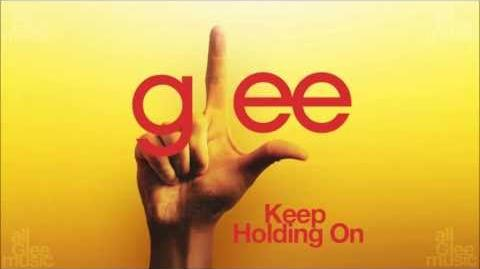Glee Cast - Keep Holding On-0