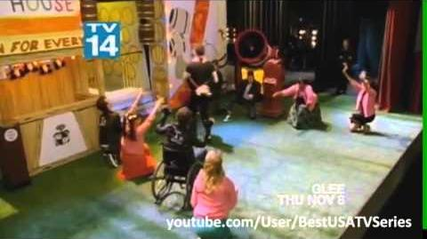 "GLEE - Promo 3 4x05 ""The Role You Were Born to Play"" *AUDIO FIXED*"