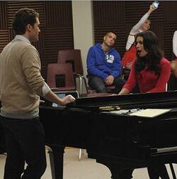 Glee Rachel y will