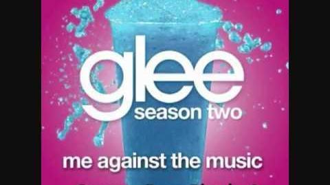 Glee - Me Against The Music (HQ FULL STUDIO)w lyrics