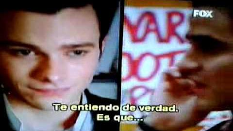 "Glee-Klaine-The Break-Up ""Hi,Stranger"" (sub"
