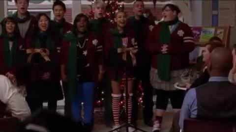 Glee- Welcome Christmas (Full Performance) (Official Music Video) HD