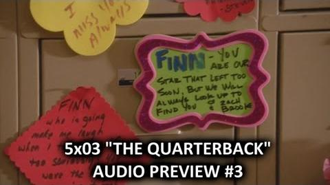 """Glee 5x03 Audio Preview 3 """"The Quarterback"""" """"Emma is worried about Will"""" HQ-0"""