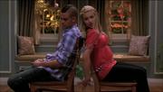Puck y Quinn atados Hairography